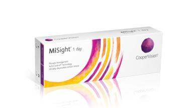 Esittelyssä MiSight(R) 1 day -piilolinssit ActivControl(R)-teknologialla